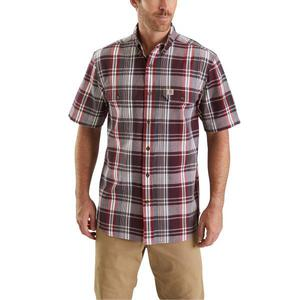 Carhartt Men's Fort Plaid Short Sleeve Shirt 103553
